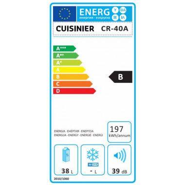 Thermo-elektrische mini koelkast 38 liter- Handig als extra koelkast