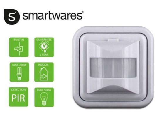 Smartwares Infrarood bewegingsdetector: Automatische verlichting aan ...