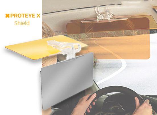 Protoeye X Zonneklep Voor In de Auto