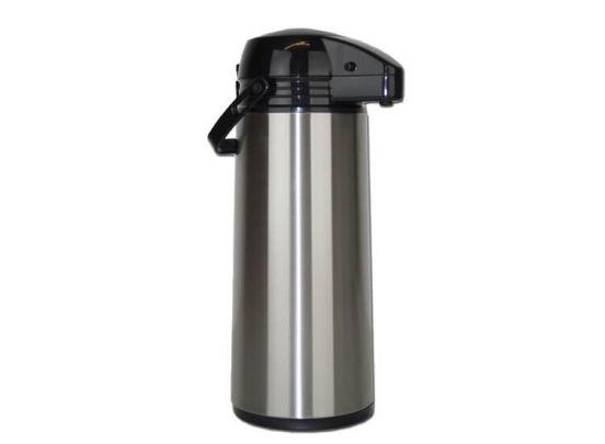 RVS thermoskan met pomp - Isoleerkan 1,9 liter