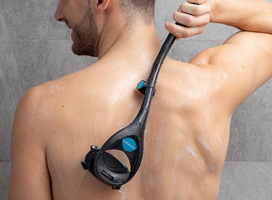 InnovaGoods opklapbaar scheerapparaat voor rug en lichaam