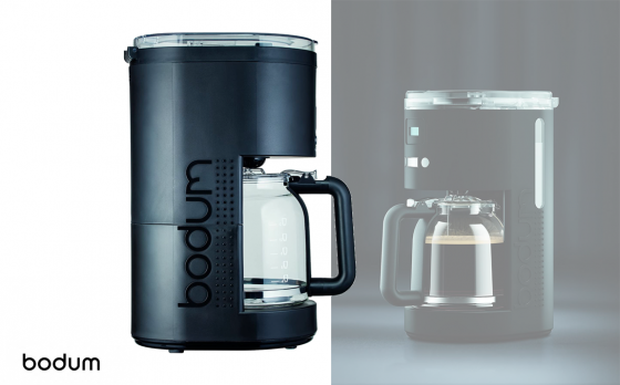 Bodum Bistro 11754 Programmeerbaar elektrisch koffiezetapparaat, 12 kopjes, 1,5 l, 1,5 liter