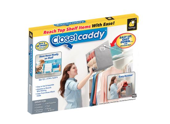 Closet Caddy - Blue - Opbergbox