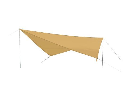 Zonnedoek Beige - Schaduw doek - 3 x 3 x 3 meter
