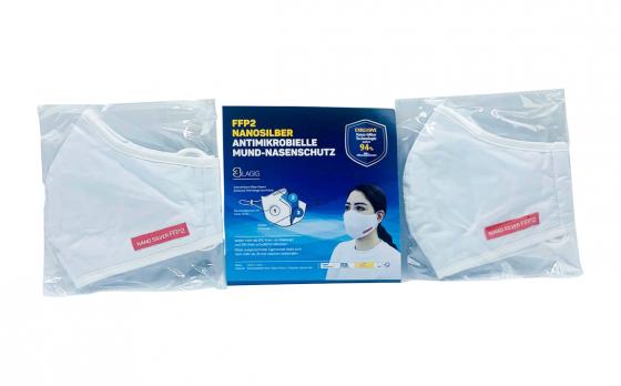 Herbruikbare Mondkapjes – Tot 30 keer wasbaar - 2 stuks