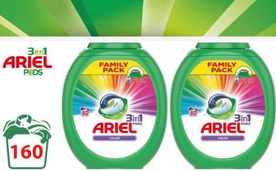 Ariel 3in1 Pods Regular - 160 pods