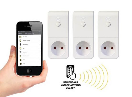 mr Safe Smart Living -  Bedien apparaten in huis op afstand via je smartphone