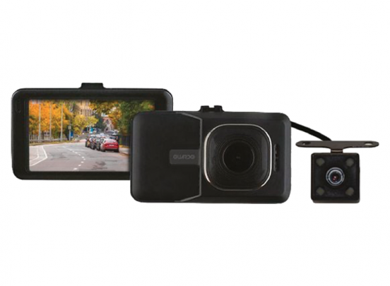 Guardo Full HD Dashcam - Voor-en achtercamera - 1080P