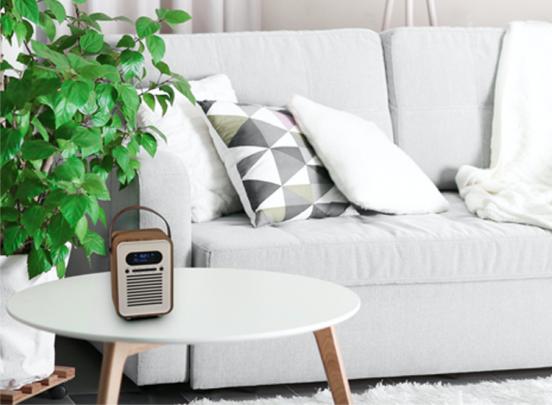 Stereoboom Woodbox dab+ radio