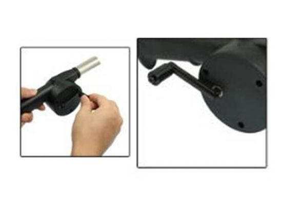 BBQ ventilator - eenvoudig de BBQ aan steken