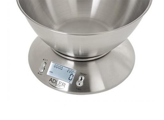 Adler AD 3134 elektronische keukenweegschaal - max 5 kg