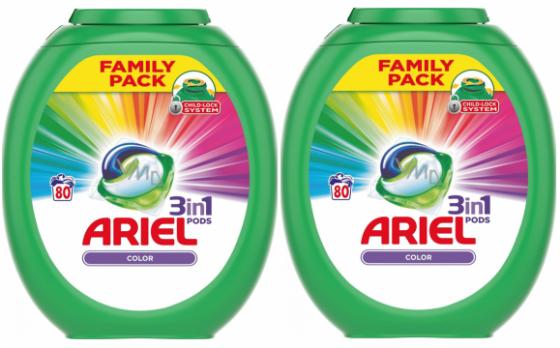 Ariel pods - 160 stuks - 160 wasbeurten - Regular en Color