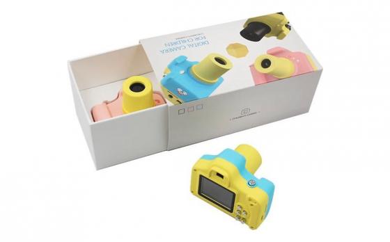Silvergear Digitale Kindercamera - 5 Megapixel - Compact formaat - Keuze uit blauw of roze
