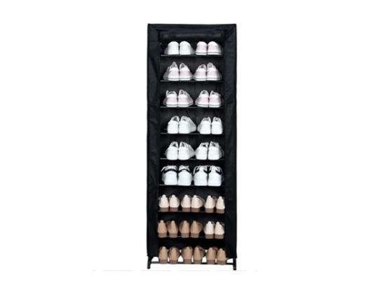 Herzberg HG-8076 9-laags schoenenorganiser - 24 paar - Grijs of Zwart