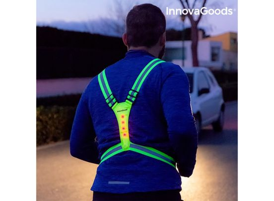 InnovaGoods Sports LED Reflecterend Hardloopvest