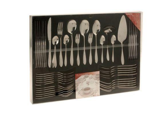 Excellent Houseware Romarino Bestekset - 60 delig - RVS