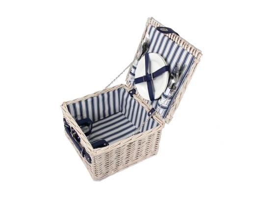 Picknickmand 2-pers - Wit