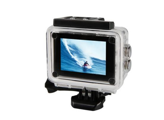 Soundlogic Action Pro 1080P Ultra HD Sports Camera - waterproof