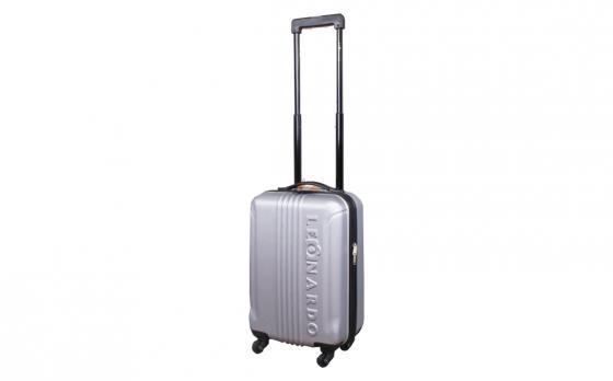 Leonardo handbagagekoffer - 53 cm -Wit