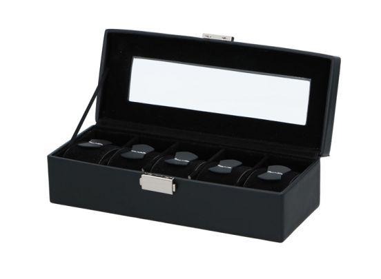 Luxe horlogebox voor 5 horloges