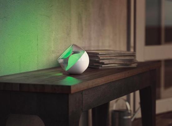 Philips Berry Tafellamp - Draagbaar - Draadloos - Wit