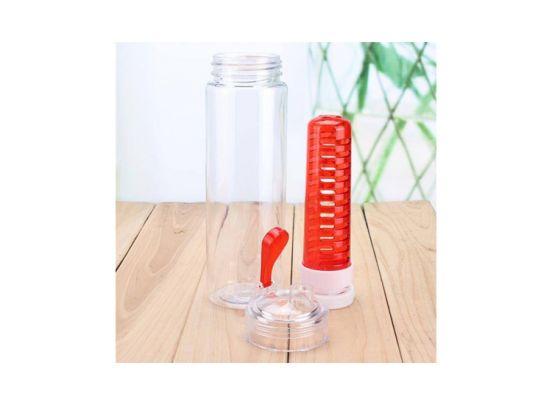 Waterfles met Fruit Filter Infuser - 800 ML - 3-pack