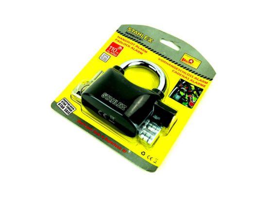 Stahlex Hangslot - 65 mm - met 100 dB alarm