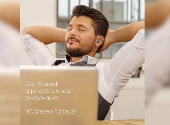 Draadloze In-Ear Oordopjes - Met Oplaadstation