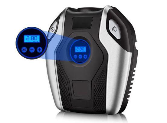 Luchtcompressor voor Autobanden, Luchtbedden - Inclusief Accessoires / Luchtslang - Drukteregelaar