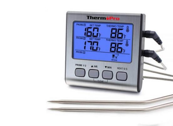 Thermo Pro Dubbele Vleesthermometer Digitaal