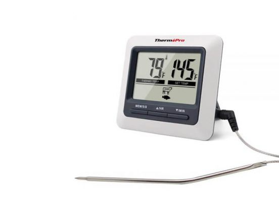 Thermo Pro BBQ / Vleesthermometer Digitaal - TP-04