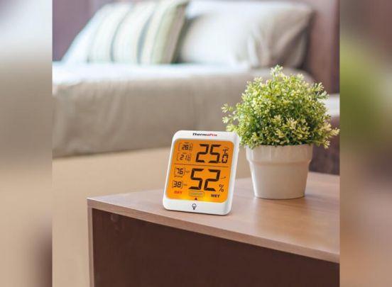 Thermo Pro TP-53 Hygrometer - Binnen Temperatuur- en vochtigheidsmeter