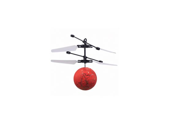 Flying Chopperball - Elektrisch aangedreven - Rood