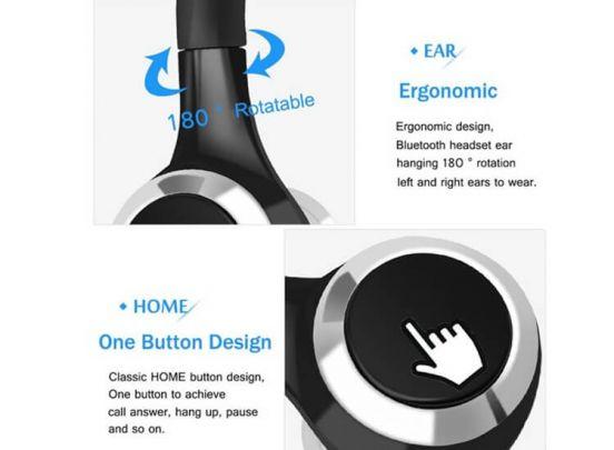Fedec Bluetooth Headset met Accu - Perfect om handsfree te bellen - A8
