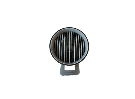 USB mini ventilator - Touch control - 3 Standen - 14 x 10 x 13,5 cm - Zwart