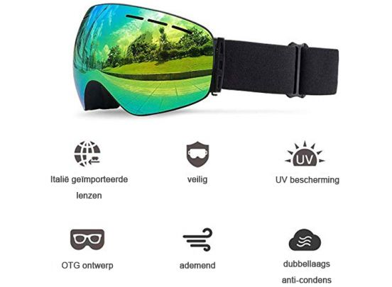 Ski Goggles with lens box