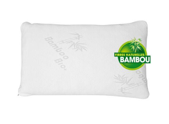 Herzberg HG-5076  bamboe kussen - Hypoallergeen en antibacterieel