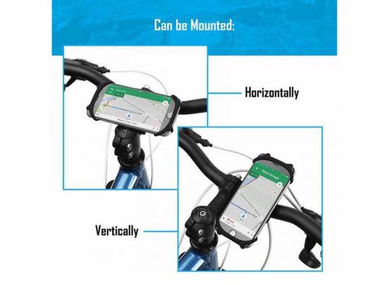 Universele smartphonehouder voor op de fiets