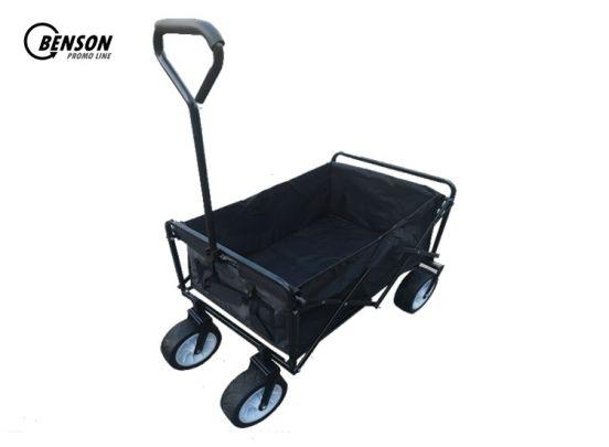 Benson Opvouwbare Bolderwagen/bolderkar met brede wielen - max. 80kg