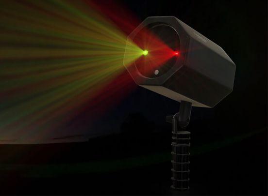 Cenocco Laserlicht voor binnen en buiten - Geniet van feestelijke lichtjes