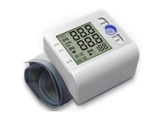Grafner Digitale Hartslag- & Bloeddrukmeter - Onderarm - Met 99 opslaglocaties