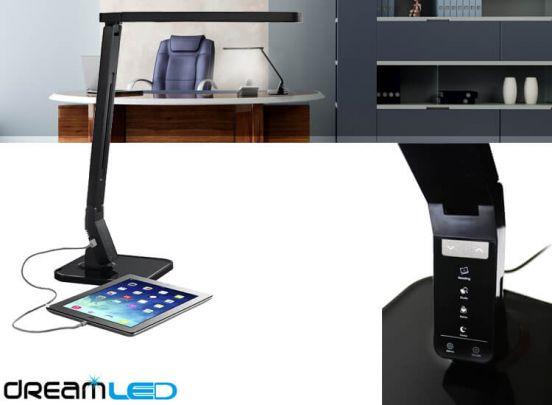 Dreamled Desk Sensor led-lamp - met 4 lichtstanden, dimbaar en USB-ingang