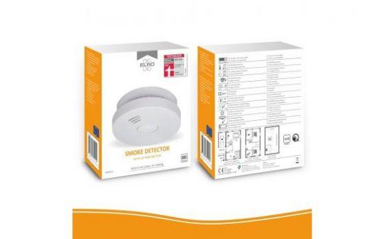 ELRO FS9010 Rookmelder met 10 jaar batterij – Q-Label, VDS en StiWa testwinnaar