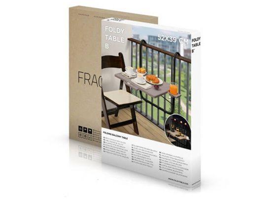 Opklapbare balkontafel - Ideaal voor kleinere balkons