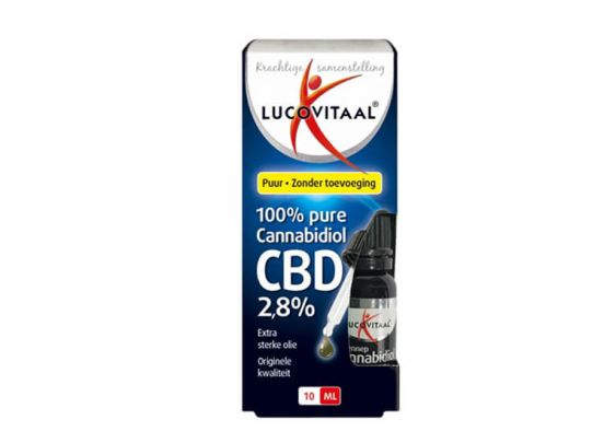 Hennep olie Lucovitaal - Extra sterke olie, originele kwaliteit