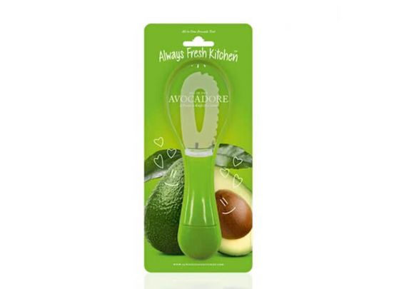 All in One Avocado Mes - Speciale 3-in-1 dunschiller voor avocado's