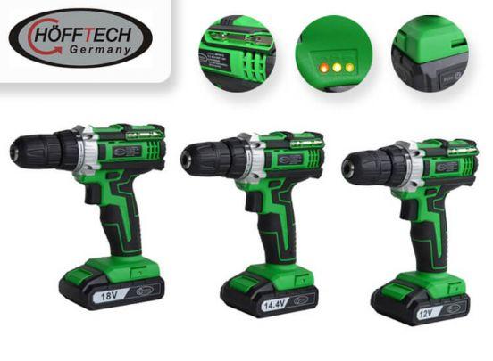 Höfftech Accuboormachine - keuze uit 3 modellen - Vaderdag cadeautip