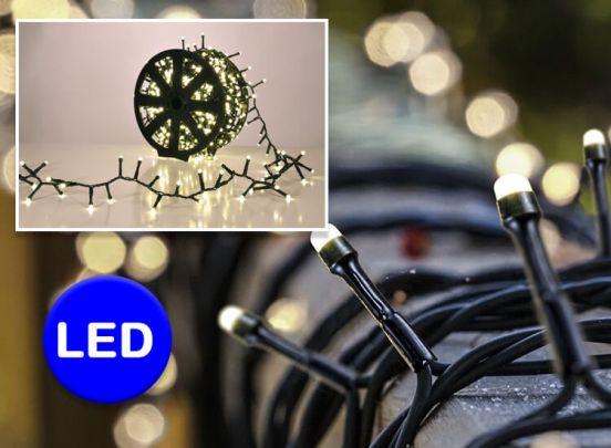 1000 LED Lighting Chain on Plastic wheel