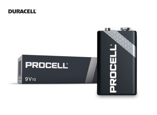 Duracell Industrial 9V Batterijen -10 Stuks