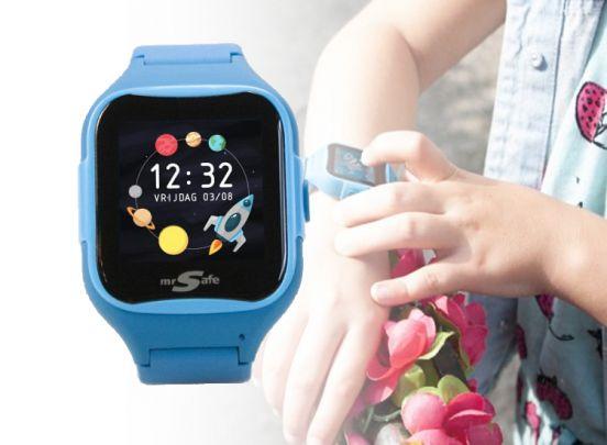 Mr Safe Smart Kids - Smartwatch - Blauw